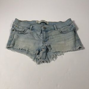 Abercrombie & Fitch Frayed Shorts